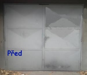 garážová vrata před výměnou 03