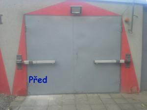 garážová vrata před výměnou 04