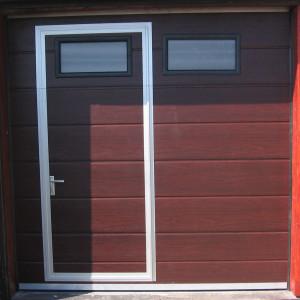vrata dveře mahagon